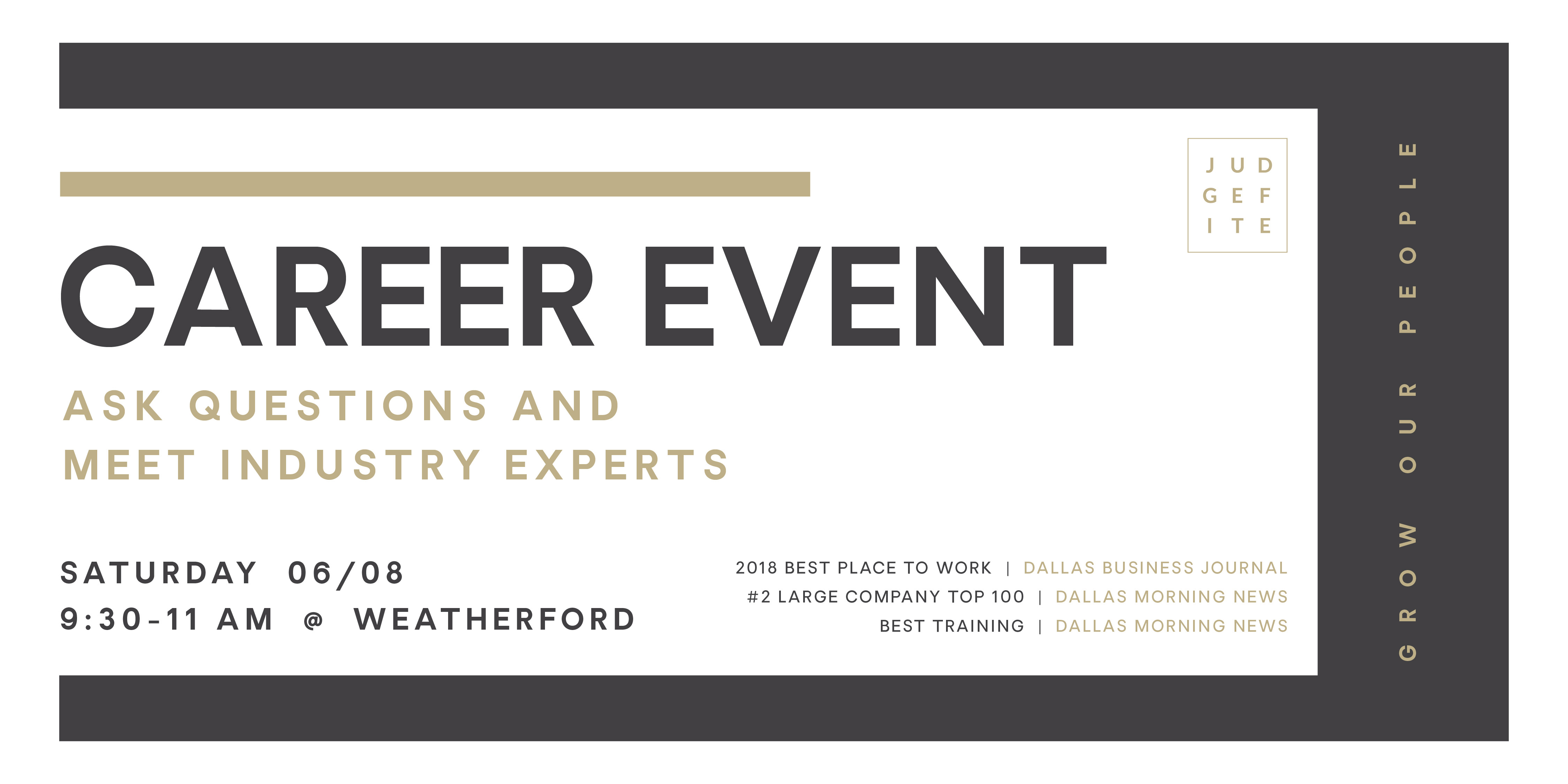 Career Event – Weatherford – CENTURY 21 Judge Fite