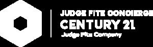 CENTURY 21 Judge Fite Concierge Logo White