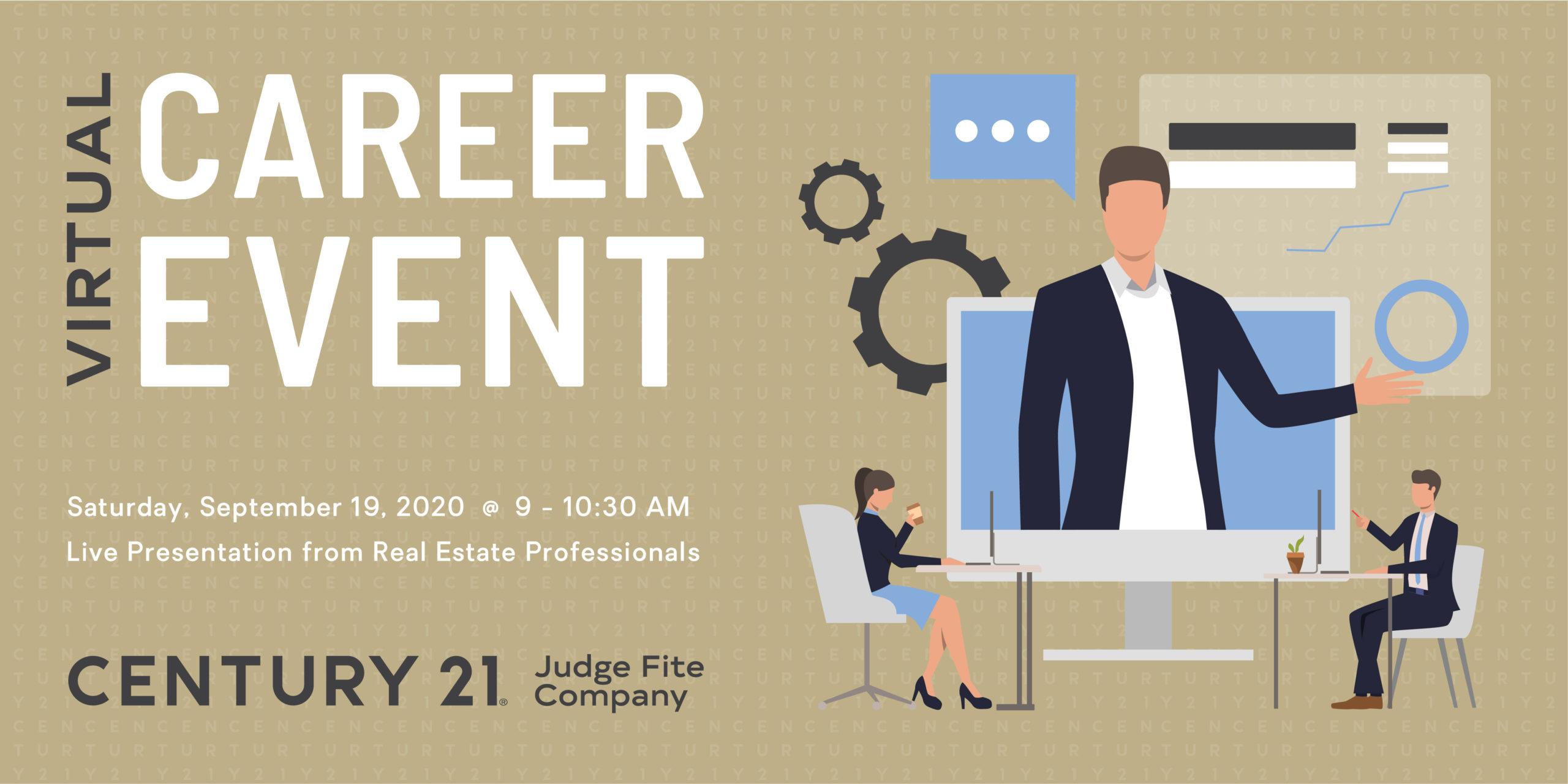 CENTURY 21 Judge Fite Company Virtual Career Event September 19, 2020
